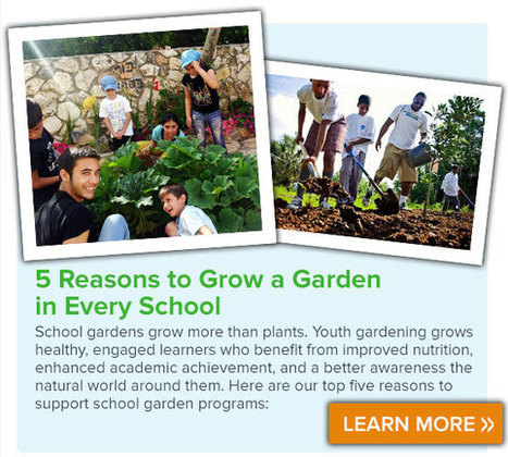 April is National Garden Month | School Gardening Resources | Scoop.it