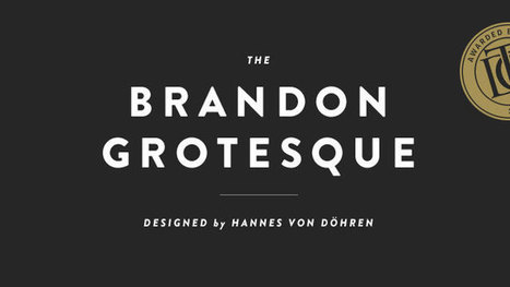 10 professional fonts for designers | Website, Mobile App & Graphic Design | Scoop.it