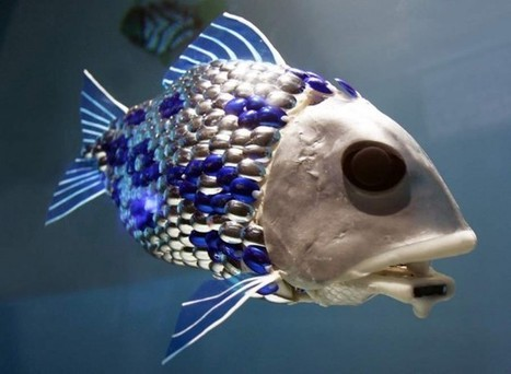 Robotic fish detects Sea Pollution | ARCHIresource | Scoop.it