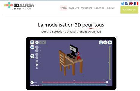 Pour des projets de modélisation en 3D à l'école (iOS, Androïd, Windows) | Vie numérique  à l'école - Académie Orléans-Tours | Scoop.it