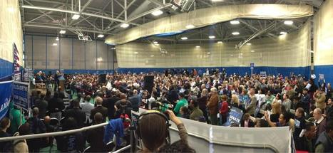 photo: @ElizabethforMA with Gov @DevalPatrick and beloved US Rep John Lewis at Reggie Lewis Ctr Boston | Massachusetts Senate Race 2012 | Scoop.it