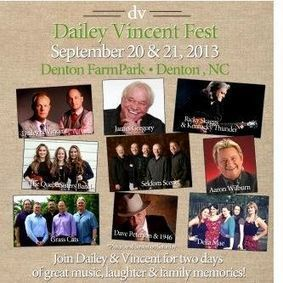 Dailey Vincent Fest in a Few Weeks - Advance Ticketing Ends Soon   Cybergrass Bluegrass Music News   Acoustic Guitars and Bluegrass   Scoop.it