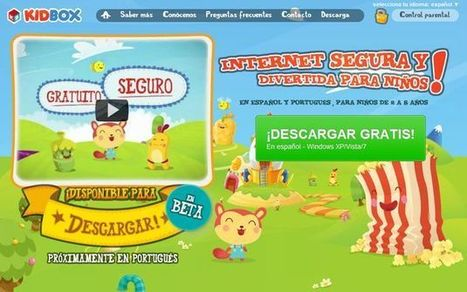 KidBox: excelente navegador para niños, gratuito, en español y con control parental | EducationLovesICT | Scoop.it