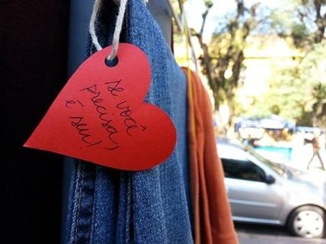 Gaúchos espalham cabides para doação de agasalhos | Cultura colaborativa | Scoop.it