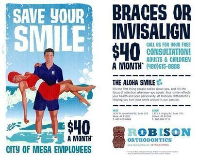 City Of Mesa Employees Get Invisalign or Braces for $40 a Month ! | Orthodontist in Mesa and Gilbert AZ | Scoop.it