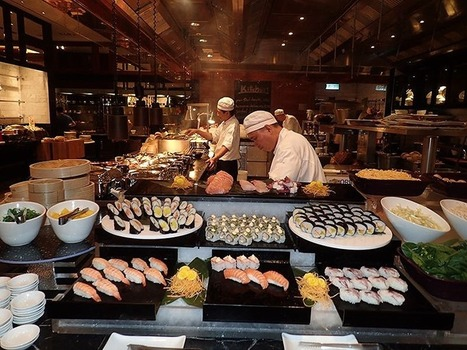 Hong Kong: West Kowloon Hotel Doubles Dishes on Themed Buffet Nights | Asian Travel | Scoop.it