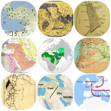 15 Maps That Don't Explain the Middle East at All | MS Geo | Scoop.it