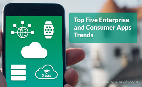 Top Five Enterprise and Consumer Apps Trends That Will Revolutionize Device Interaction | Mobile Apps Development & Enterprise Solutions | Scoop.it