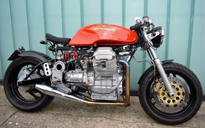 Guzzi by Motonero | Cafe racers chronicles | Scoop.it