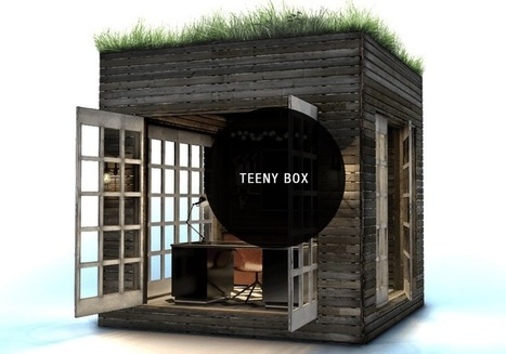 Tiny prefab Box homes go up in as little as a day | Sustainable Futures | Scoop.it