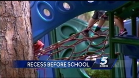 Moore, OK school program to start day on playground instead of classroom | Each One Teach One, Each One Reach One | Scoop.it