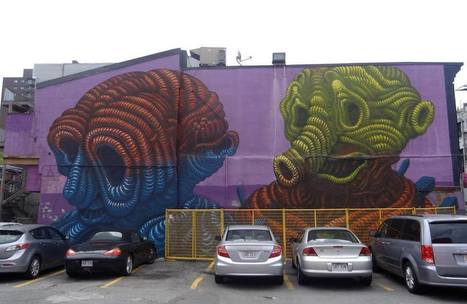 Making It, and Not, in Montreal's Street Art Scene | Share Some Love Today | Scoop.it