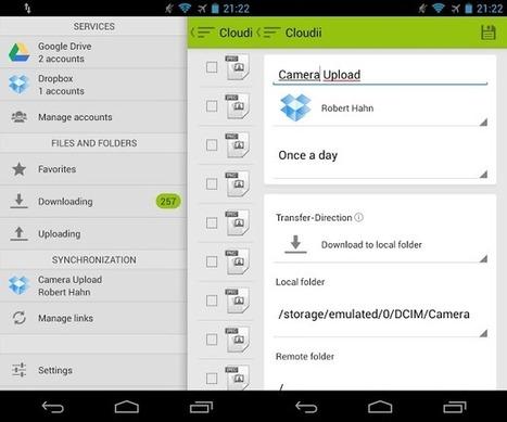 Cloudii: La app para administrar todas nuestras cuentas de almacenamiento online   Aplicaciones y dispositivos para un PLE   Scoop.it