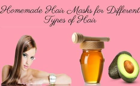 DIY Hair Masks | Homemade Hair Mask Recipes | beauty | Scoop.it