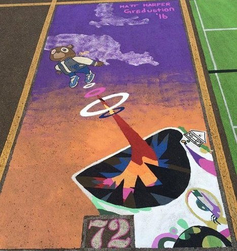 Some High Schools Let Seniors Creatively Paint Their Parking Spots Each Year | Le It e Amo ✪ | Scoop.it
