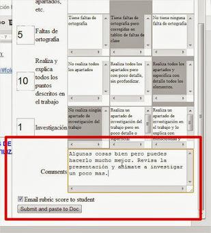 Trabajo colaborativo y evaluación mediante rúbricas en clase. Google Drive, Doctopus y Goobric | Recull diari | Scoop.it