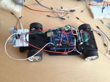 Autonomous Race Car | Arduino in the Classroom | Scoop.it