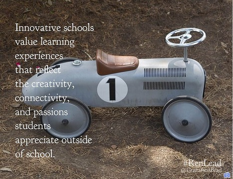 What makes a school innovative?   For the Classroom   Scoop.it