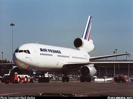 Photos: McDonnell Douglas DC-10-30 Air France | @Ceanothe | Scoop.it