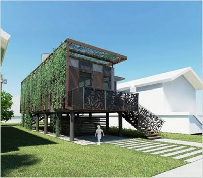 Impressive Inspirative Modern Minimalist eco-Green Home design - The Photo's Architect | Container Architecture | Scoop.it