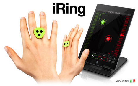 Motion controller for music apps and more | UX-UI-Wearable-Tech for Enhanced Human | Scoop.it