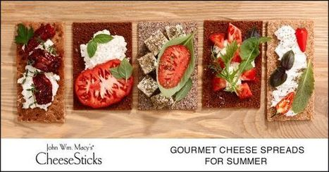 Cheesesticks :: Five Gourmet Cheese Spreads You Can't Pass Up This Summer | Gourmet Snacks | Scoop.it