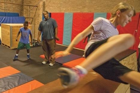 Former West Side acrobat teaching parkour classes in Forest Park - Austin Weekly News | parkour jam | Scoop.it