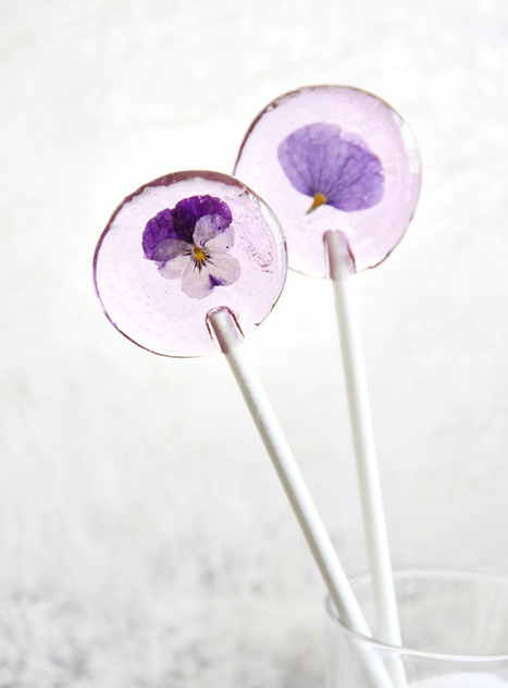 Spring Flower Lollipops | Floristry | Scoop.it