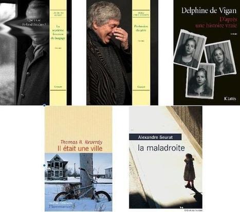 Cinq écrivains en quête du prix littéraire FNAC | BiblioLivre | Scoop.it