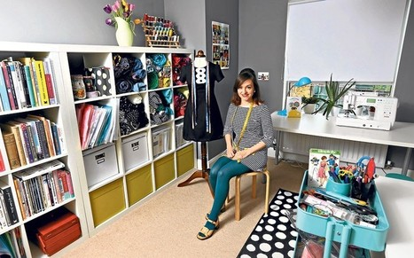 My space: Tilly Walnes, seamstress and blogger - Telegraph.co.uk   Sewing   Scoop.it