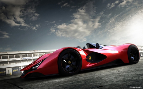 Ferrari Aliante Concept Car | What Surrounds You | Scoop.it