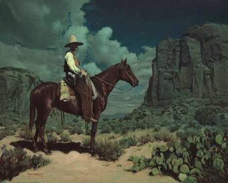 Western Paintings by Mark Maggiori | Graphisme - Illustration | Scoop.it
