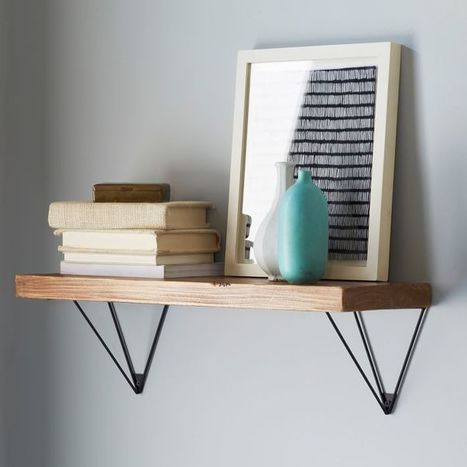 A Closer Look At Shelf Brackets And Their Diverse Designs | Designing Interiors | Scoop.it