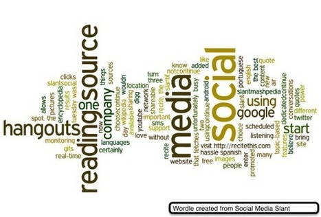 Wordle lets you create beautiful word clouds | Teknowledgey | Scoop.it