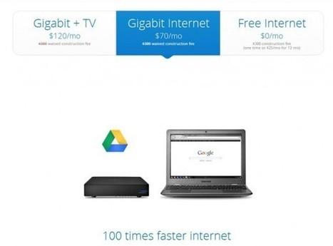 Google se lance dans la fibre à 1 Gb/s   Gotta see it   Scoop.it