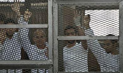 Video evidence used against al-Jazeera journalists filmed by other networks | Saif al Islam | Scoop.it