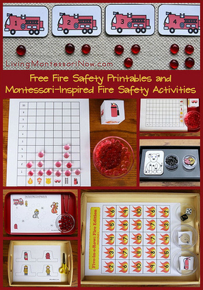 Free Fire Safety Printables and Montessori-Inspired Fire Safety Activities | Montessori Inspired | Scoop.it