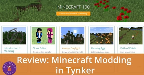 Minecraft Modding in Tynker Review | Learning on the Digital Frontier | Scoop.it