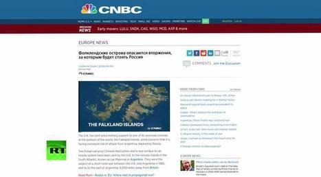 Западные СМИ: Путин угрожает Фолклендским островам   Global politics   Scoop.it