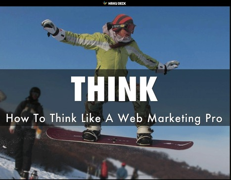 THINK Like A Marketing Pro: 5 Secret Tips via @HaikuDeck | GodSpeed Great Commission | Scoop.it