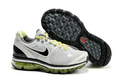 Mens Air Max 2009 White Black Green Shoes | popular and new list | Scoop.it