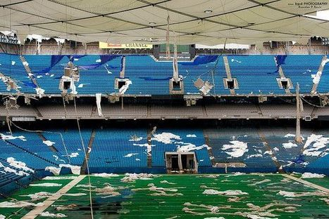 10 Abandoned Sports Stadiums & Crumbling Arenas of the World - Urban Ghosts Media | Exploration Urbaine | Scoop.it
