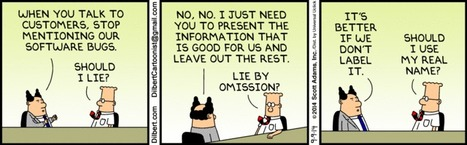 Talk to customer - Dilbert | fun for geeks | Scoop.it