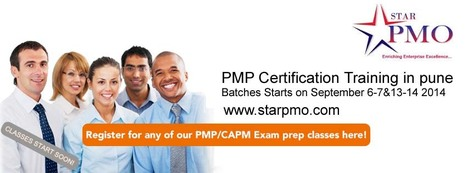 PMP Certification Training in Pune Starts from 6th September 2014 | pmp training in pune | Scoop.it