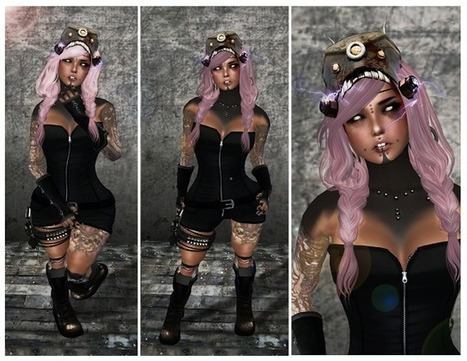 Urban'Street: *+looking in the dark+* | Second Life Fashion | Scoop.it