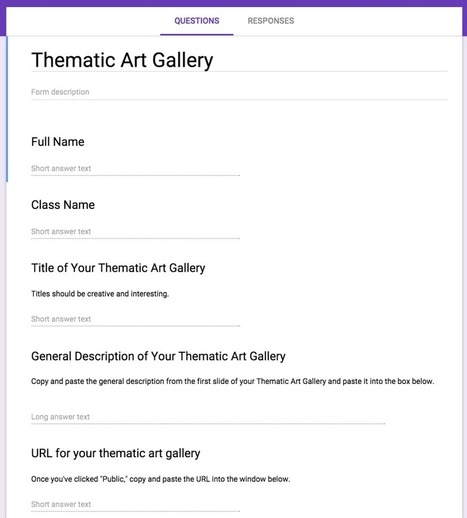 Design a Thematic Art Gallery with Google Art Project | Education Technology | Scoop.it