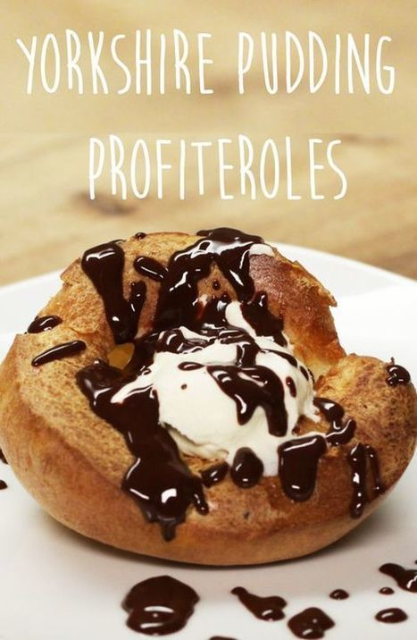 #Recipe : Yorkshire Pudding Profiteroles | My Favorite Things | DIY & Crafts | Scoop.it