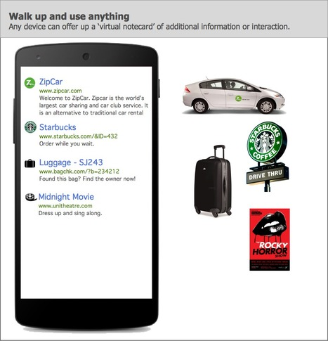 Google's Physical Web allows everyday objects to interact with smartphones   Objets   Voitures connectées   Scoop.it