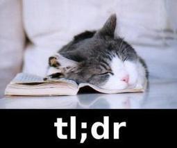TL;DR | Dobrze wiedzieć | Scoop.it