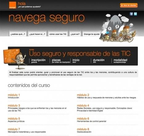 Curso gratuito de uso seguro y responsable de las TIC | RIATE | Scoop.it